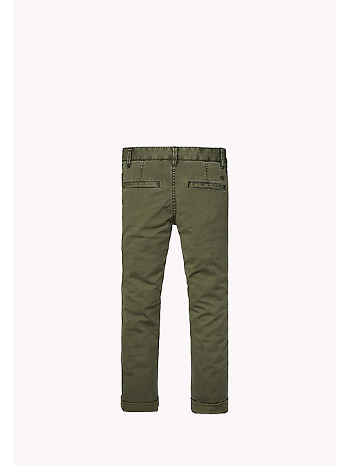 TOMMY HILFIGER Skinny fit chino - FOREST NIGHT? - TOMMY HILFIGER Jongens - detail image 1