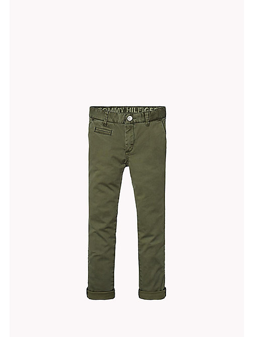 TOMMY HILFIGER Skinny fit chino - FOREST NIGHT? - TOMMY HILFIGER Jongens - main image