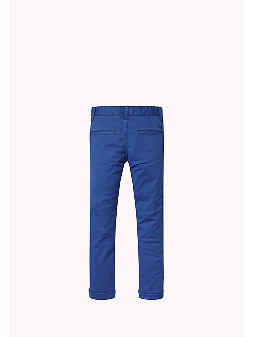 TOMMY HILFIGER Skinny fit chino - ESTATE BLUE - TOMMY HILFIGER Jongens - detail image 1