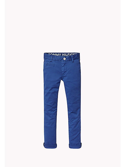 TOMMY HILFIGER Skinny fit chino - ESTATE BLUE - TOMMY HILFIGER Jongens - main image