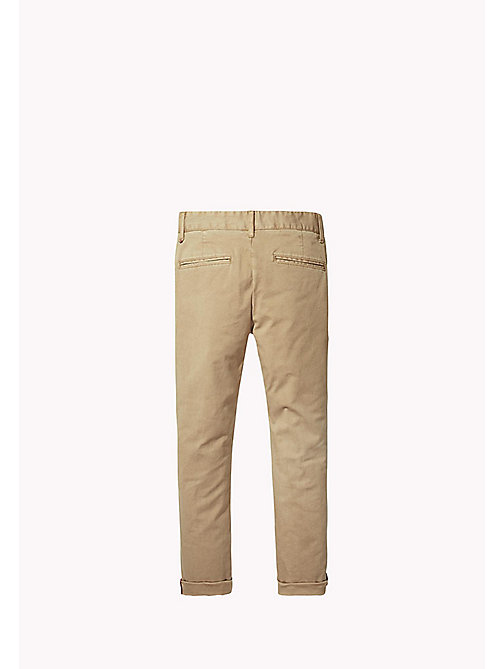 TOMMY HILFIGER Relaxed Fit Chino - BATIQUE KHAKI - TOMMY HILFIGER Boys - detail image 1