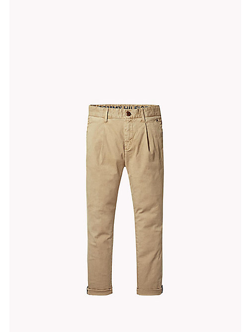 TOMMY HILFIGER Relaxed Fit Chino - BATIQUE KHAKI - TOMMY HILFIGER Boys - main image