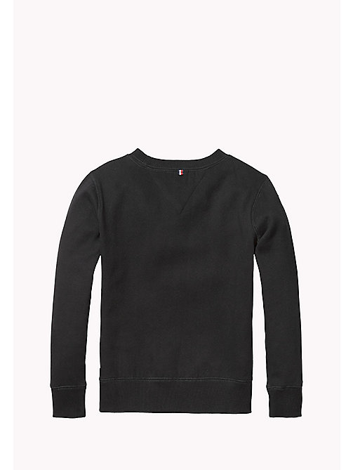 TOMMY HILFIGER Cotton Blend Sweatshirt - TOMMY BLACK - TOMMY HILFIGER Boys - detail image 1