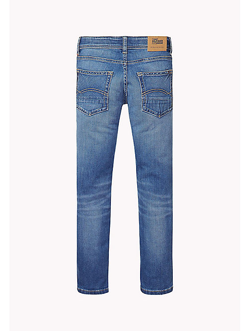 TOMMY HILFIGER Jean straight fit - COLORADO DARK BLUE STRETCH - TOMMY HILFIGER Jeans - image détaillée 1