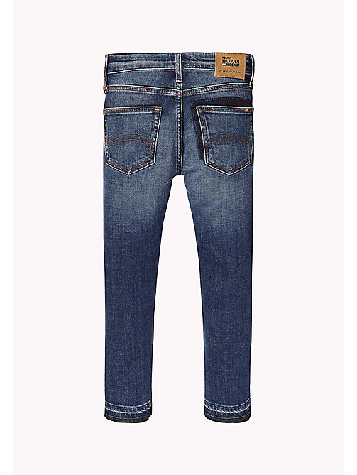 TOMMY HILFIGER Gekürzte Relaxed Fit Jeans - NEW YORK CROSS HATCH STRETCH - TOMMY HILFIGER Jeans - main image 1