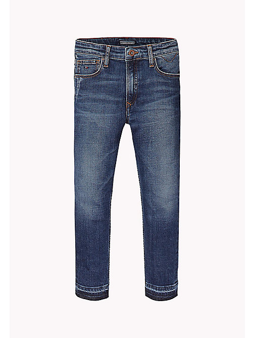 TOMMY HILFIGER Relaxed fit cropped jeans - NEW YORK CROSS HATCH STRETCH - TOMMY HILFIGER Jeans - main image