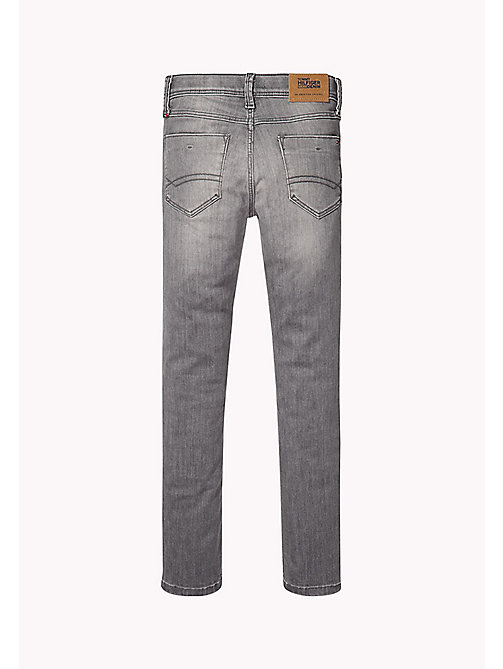 TOMMY HILFIGER Slim fit tapered jeans - OREGON GREY POWER STRETCH - TOMMY HILFIGER Jeans - detail image 1