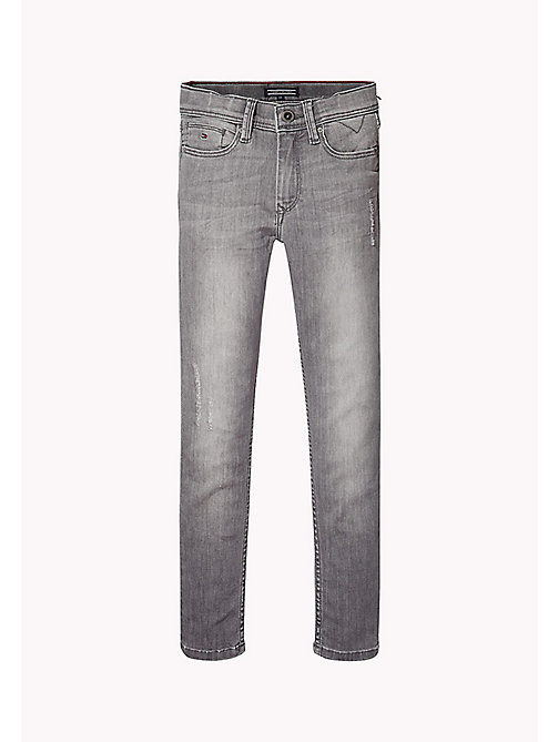 TOMMY HILFIGER Slim Fit Tapered Jeans - OREGON GREY POWER STRETCH - TOMMY HILFIGER Jeans - main image