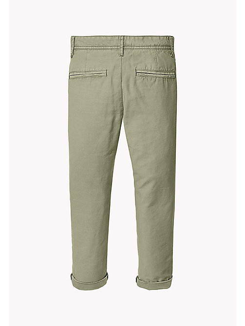 TOMMY HILFIGER Relaxed Fit Chino - THYME - TOMMY HILFIGER Trousers & Shorts - detail image 1