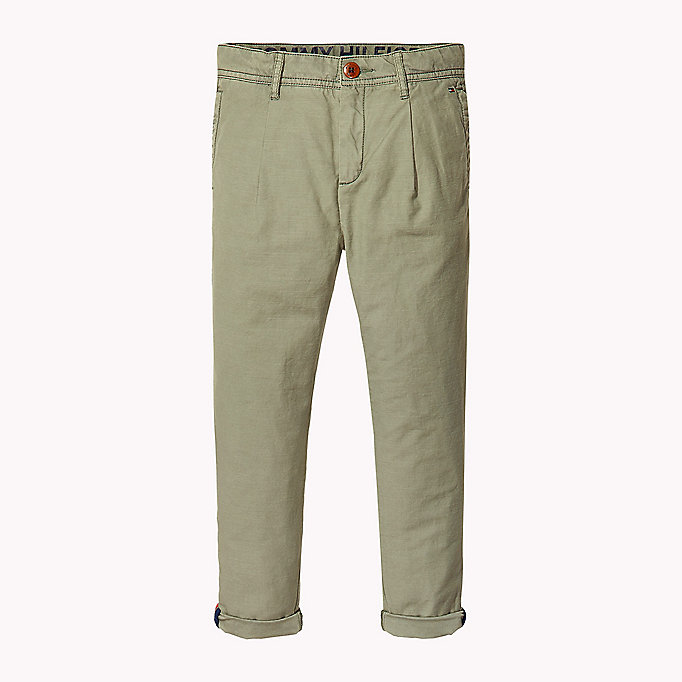 TOMMY HILFIGER Chino relaxed fit - BLUE DEPTHS - TOMMY HILFIGER Enfants - image principale