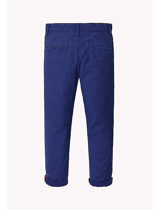 TOMMY HILFIGER Relaxed Fit Chino - BLUE DEPTHS - TOMMY HILFIGER Trousers & Shorts - detail image 1