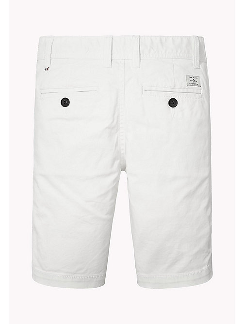 TOMMY HILFIGER Chino Shorts - BRIGHT WHITE - TOMMY HILFIGER Boys - detail image 1
