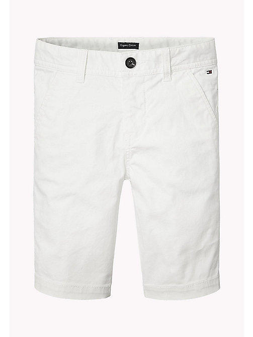 TOMMY HILFIGER Chino Shorts - BRIGHT WHITE - TOMMY HILFIGER Trousers & Shorts - main image