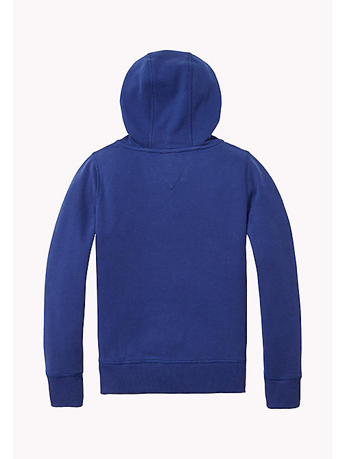TOMMY HILFIGER AME HILFIGER HD ZIP HWK L/S - BLUE DEPTHS - TOMMY HILFIGER Tops - detail image 1