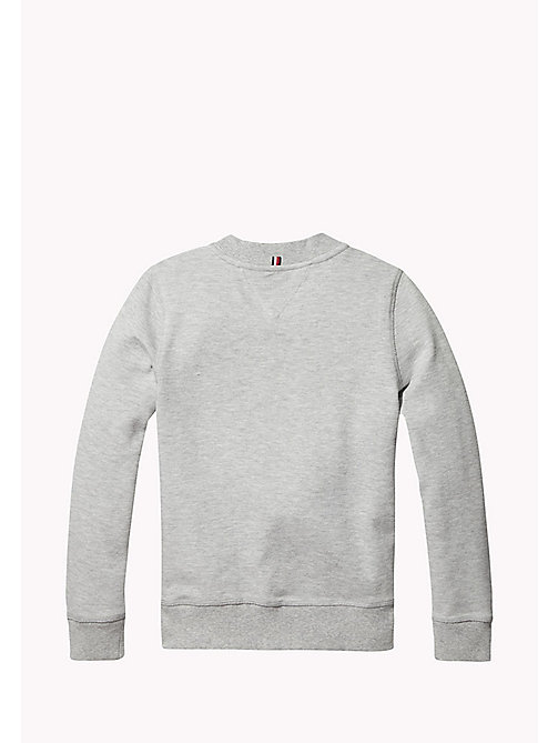 TOMMY HILFIGER Flag Colourblock Sweatshirt - NEW GREY HEATHER B1NAC04 VOL. 46 - TOMMY HILFIGER Sweatshirts & Hoodies - detail image 1