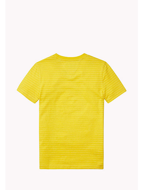 TOMMY HILFIGER Striped Crew Neck T-Shirt - FREESIA - TOMMY HILFIGER T-shirts & Polos - detail image 1