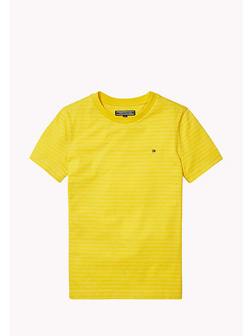 TOMMY HILFIGER Striped Crew Neck T-Shirt - FREESIA - TOMMY HILFIGER T-shirts & Polos - main image