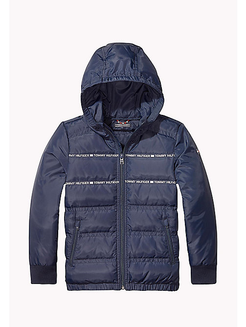TOMMY HILFIGER Lightweight Down Jacket - BLACK IRIS - TOMMY HILFIGER Coats & Jackets - main image