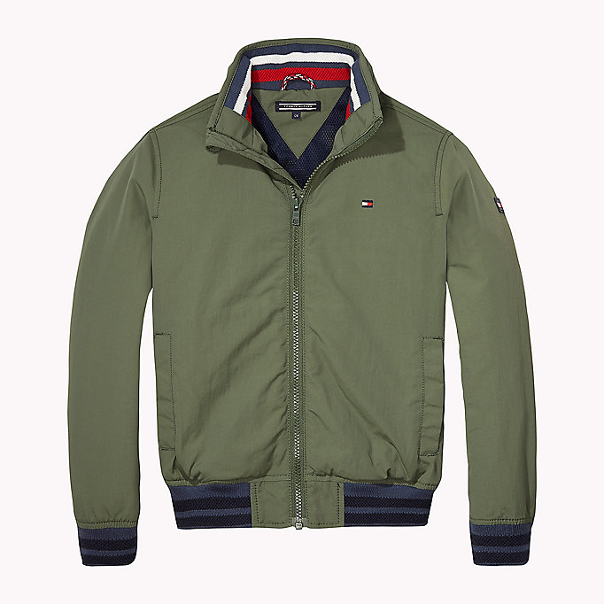 TOMMY HILFIGER Nylon-Bomberjacke - BLUE DEPTHS - TOMMY HILFIGER Kinder - main image