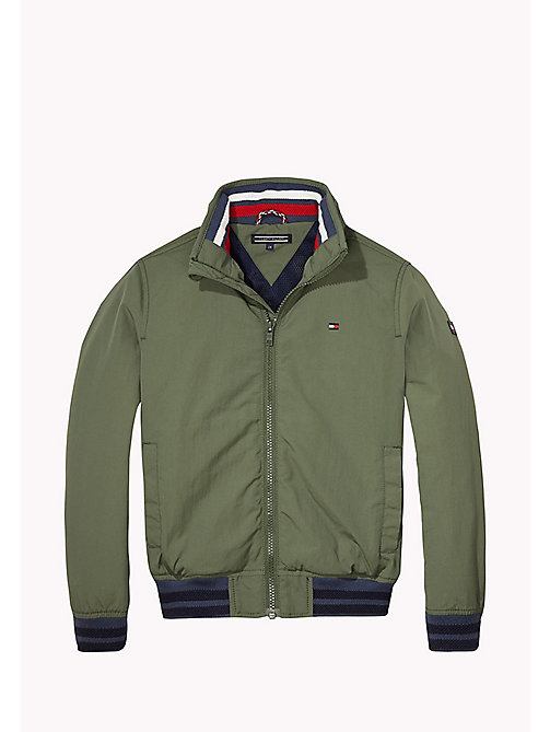 TOMMY HILFIGER Bomber in nylon - THYME - TOMMY HILFIGER Cappotti & Giacche - immagine principale