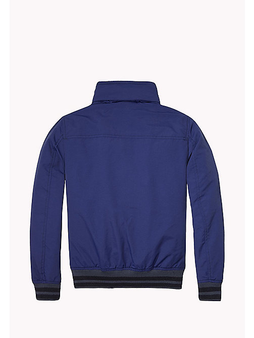 TOMMY HILFIGER Nylon Bomber Jacket - BLUE DEPTHS - TOMMY HILFIGER Coats & Jackets - detail image 1