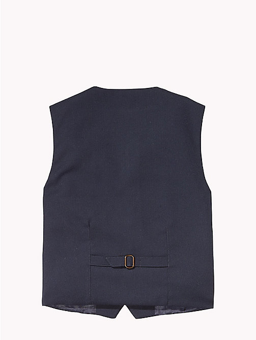 TOMMY HILFIGER Structured Waistcoat - NAVY BLAZER - TOMMY HILFIGER Coats & Jackets - detail image 1