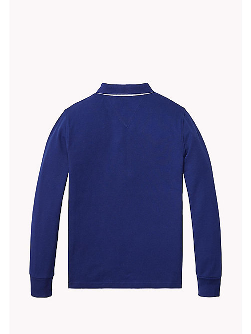 AME TOMMY POLO L/S - BLUE DEPTHS - TOMMY HILFIGER Boys - detail image 1