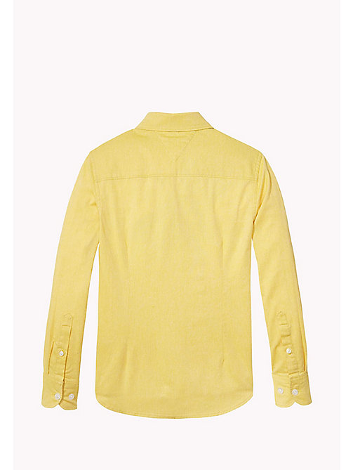 TOMMY HILFIGER AME STRETCH OXFORD SHIRT L/S - FREESIA - TOMMY HILFIGER Tops - detail image 1