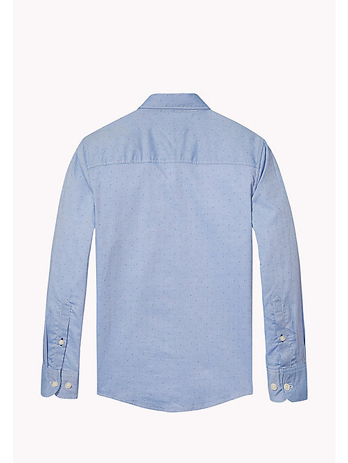 TOMMY HILFIGER AME BLUE SHIRT L/S - BLUE DEPTHS -  Tops - detail image 1