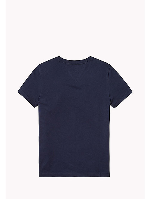 TOMMY HILFIGER GRAPHIC CN TEE S/S - BLACK IRIS -  Oberteile - main image 1