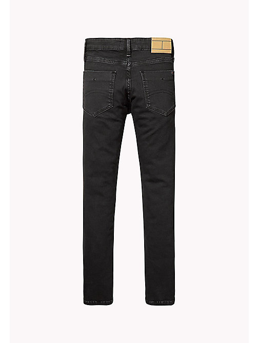 TOMMY HILFIGER Stretch Slim Fit Jeans - TOMMY BLACK - TOMMY HILFIGER Jeans - detail image 1