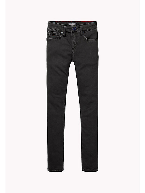 TOMMY HILFIGER Stretch Slim Fit Jeans - TOMMY BLACK - TOMMY HILFIGER Jeans - main image
