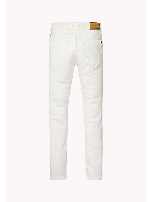 TOMMY HILFIGER Stretch Slim Fit Jeans - BRIGHT WHITE - TOMMY HILFIGER Boys - detail image 1