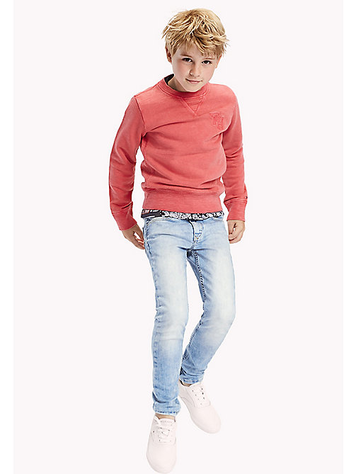 Slim Fit Tapered Jeans - CALI LIGHT POWER STRETCH - TOMMY HILFIGER Boys - main image