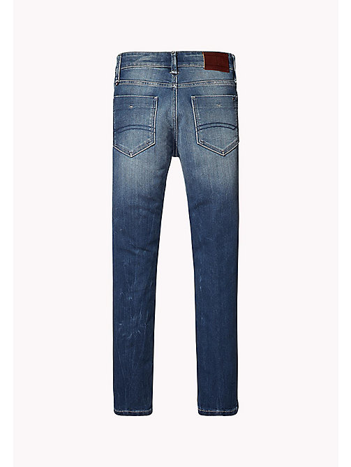 TOMMY HILFIGER Slim Fit Tough Denim Jeans - ROBUST MID DENIM - TOMMY HILFIGER Jeans - detail image 1