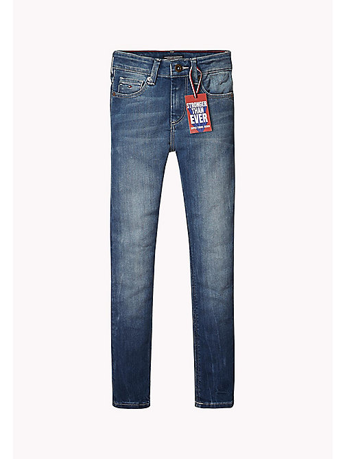 Slim Fit Tough Denim Jeans - ROBUST MID DENIM - TOMMY HILFIGER Boys - main image