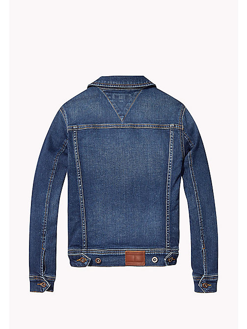 TOMMY HILFIGER Trucker Denim Jacket - VOLCANO VINTAGE BLUE STRETCH - TOMMY HILFIGER Boys - detail image 1