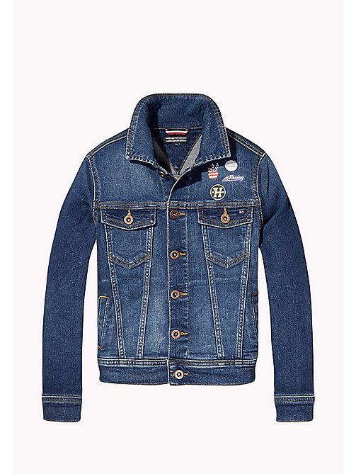 Trucker Denim Jacket - VOLCANO VINTAGE BLUE STRETCH - TOMMY HILFIGER Boys - main image