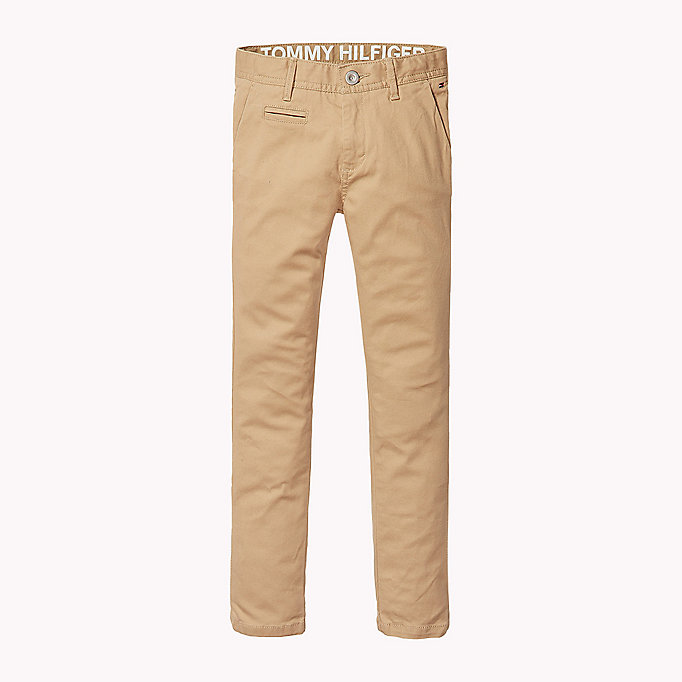 TOMMY HILFIGER Chino skinny fit - BLUE DEPTHS - TOMMY HILFIGER Enfants - image principale