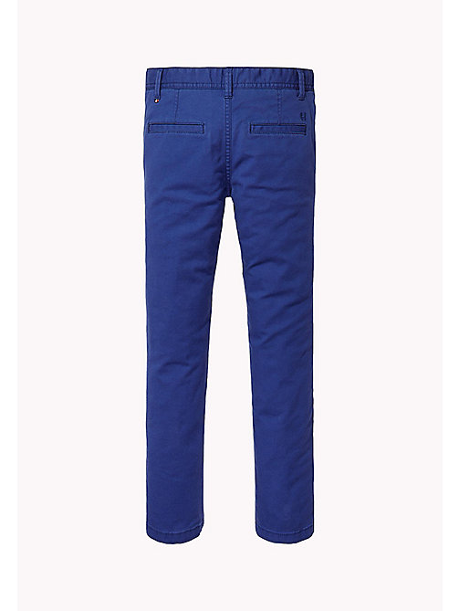 TOMMY HILFIGER Skinny Fit Chino - BLUE DEPTHS - TOMMY HILFIGER Trousers & Shorts - detail image 1
