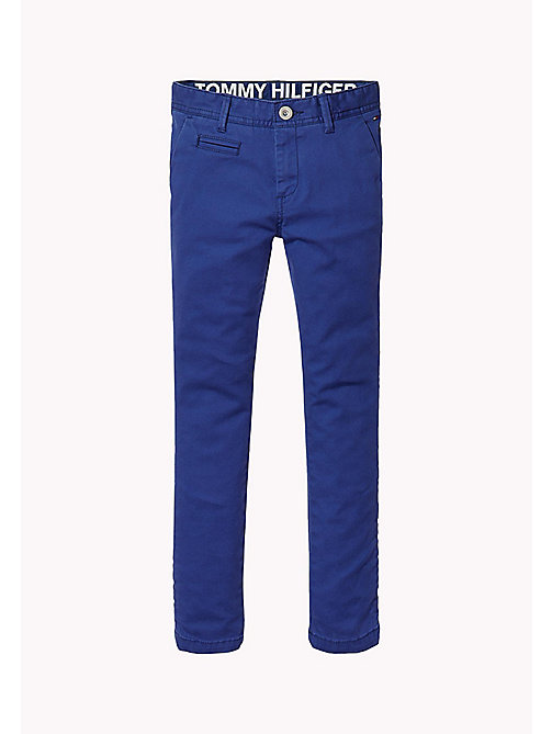 TOMMY HILFIGER Skinny Fit Chino - BLUE DEPTHS - TOMMY HILFIGER Trousers & Shorts - main image