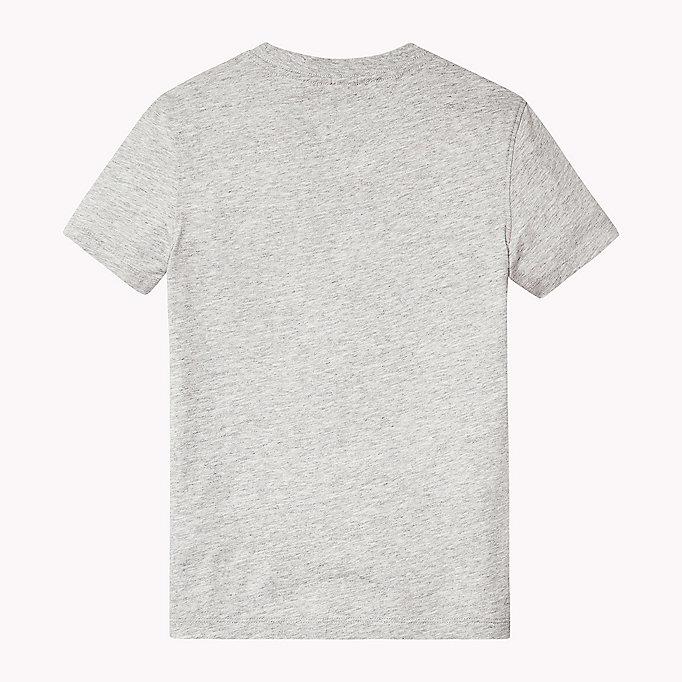 TOMMY HILFIGER Organic Cotton Crew Neck T-Shirt - THYME - TOMMY HILFIGER Kids - detail image 1