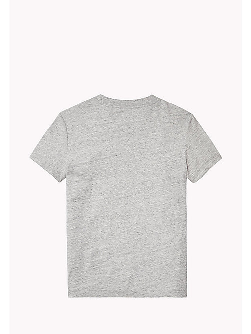 TOMMY HILFIGER Rundhals-T-Shirt mit Tasche - NEW GREY HEATHER B1NAC04 VOL. 46? - TOMMY HILFIGER T-shirts & Poloshirts - main image 1