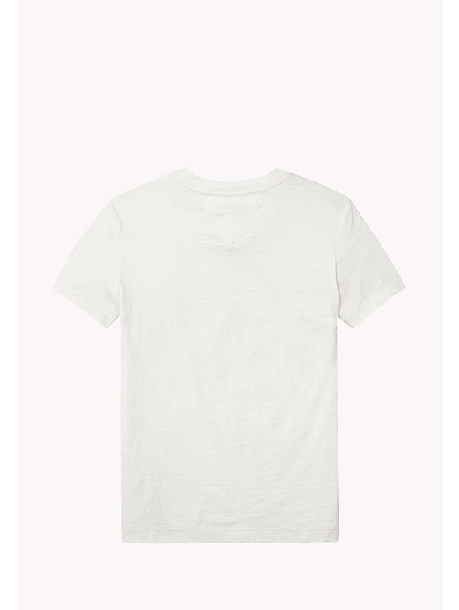 TOMMY HILFIGER Pocket Crew Neck T-Shirt - BRIGHT WHITE - TOMMY HILFIGER T-shirts & Polos - detail image 1