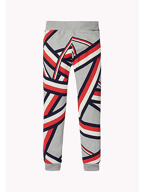 TOMMY HILFIGER SC GLOBAL STRIPE SWEATPANT - SPORTS GREY HTR - TOMMY HILFIGER Jongens - detail image 1