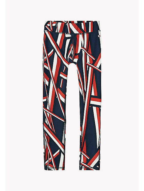 TOMMY HILFIGER SC GLOBAL STRIPE TIGHTS - MIDNIGHT - TOMMY HILFIGER Jongens - main image