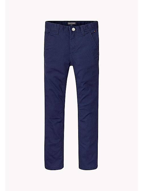 TOMMY HILFIGER Skinny Fit Chino - BLACK IRIS - TOMMY HILFIGER Boys - main image