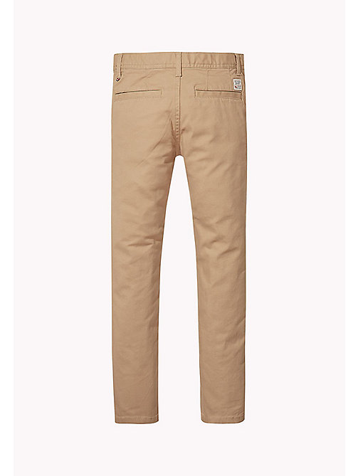 TOMMY HILFIGER Skinny Fit Chino - BATIQUE KHAKI - TOMMY HILFIGER Trousers & Shorts - detail image 1