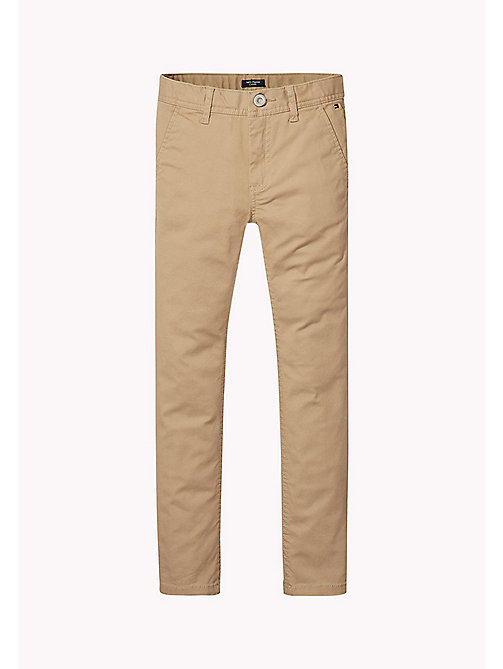 TOMMY HILFIGER Skinny Fit Chino - BATIQUE KHAKI - TOMMY HILFIGER Trousers & Shorts - main image