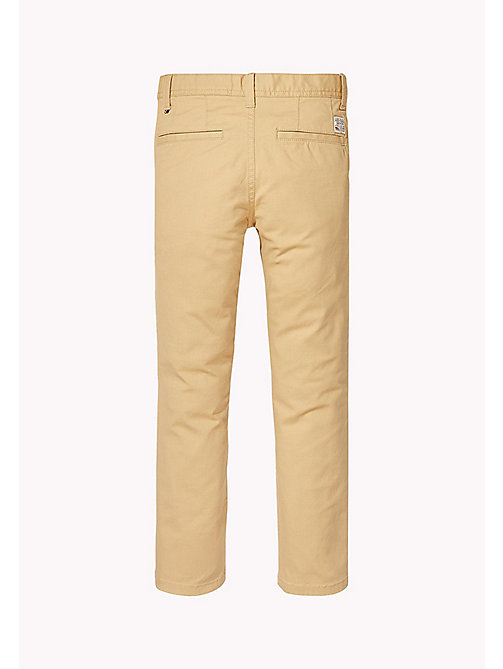 TOMMY HILFIGER Skinny Fit Chino - CURDS & WHEY - TOMMY HILFIGER Boys - detail image 1